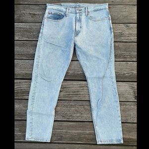 Men's Levi's 512 slim taper jeans light wash 36x30